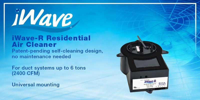 Air Quality… Breathe Easy with the iWave-R