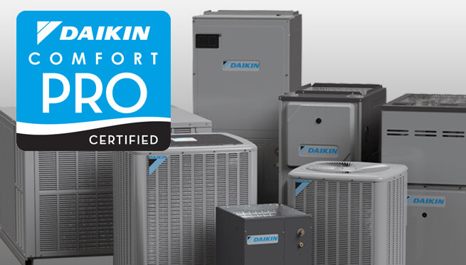 What does it mean to be Daikin Comfort Pro Certified?